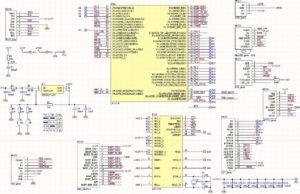 LPC1768 protoboard schematic