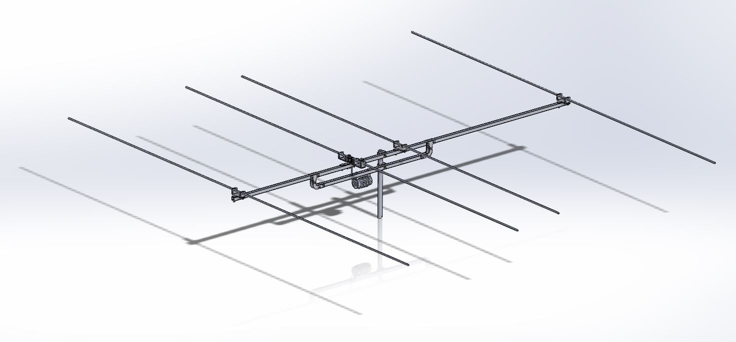 Mare & Gal Electronics » Blog Archive » 4 element Yagi for 6m
