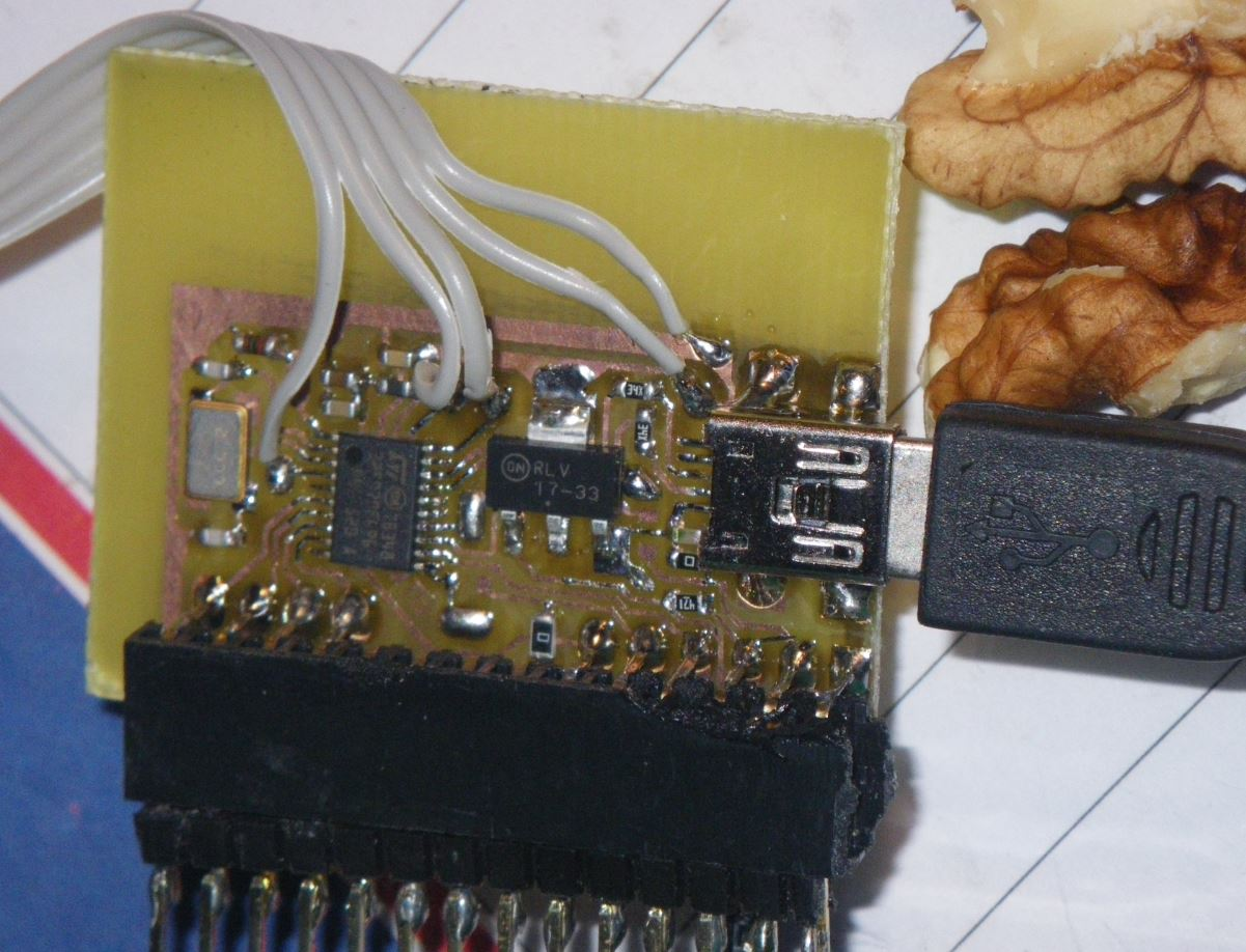 Mare & Gal Electronics » Blog Archive » USB to Alphanumeric