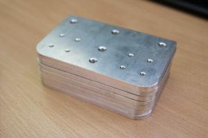 Dance pad frame plates