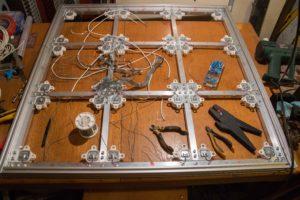 Dance pad wiring