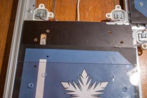 Dance pad pressure plate 1