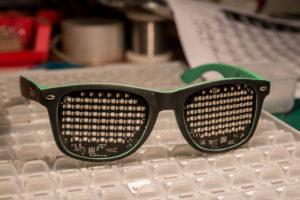 LED shades