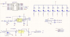 LED decoration schematic
