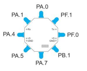 GPIO Ports for LEDs