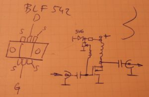 Proper schematic for ultra simple QRSS amplifier
