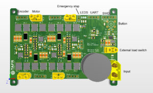 BDC driver circuit board